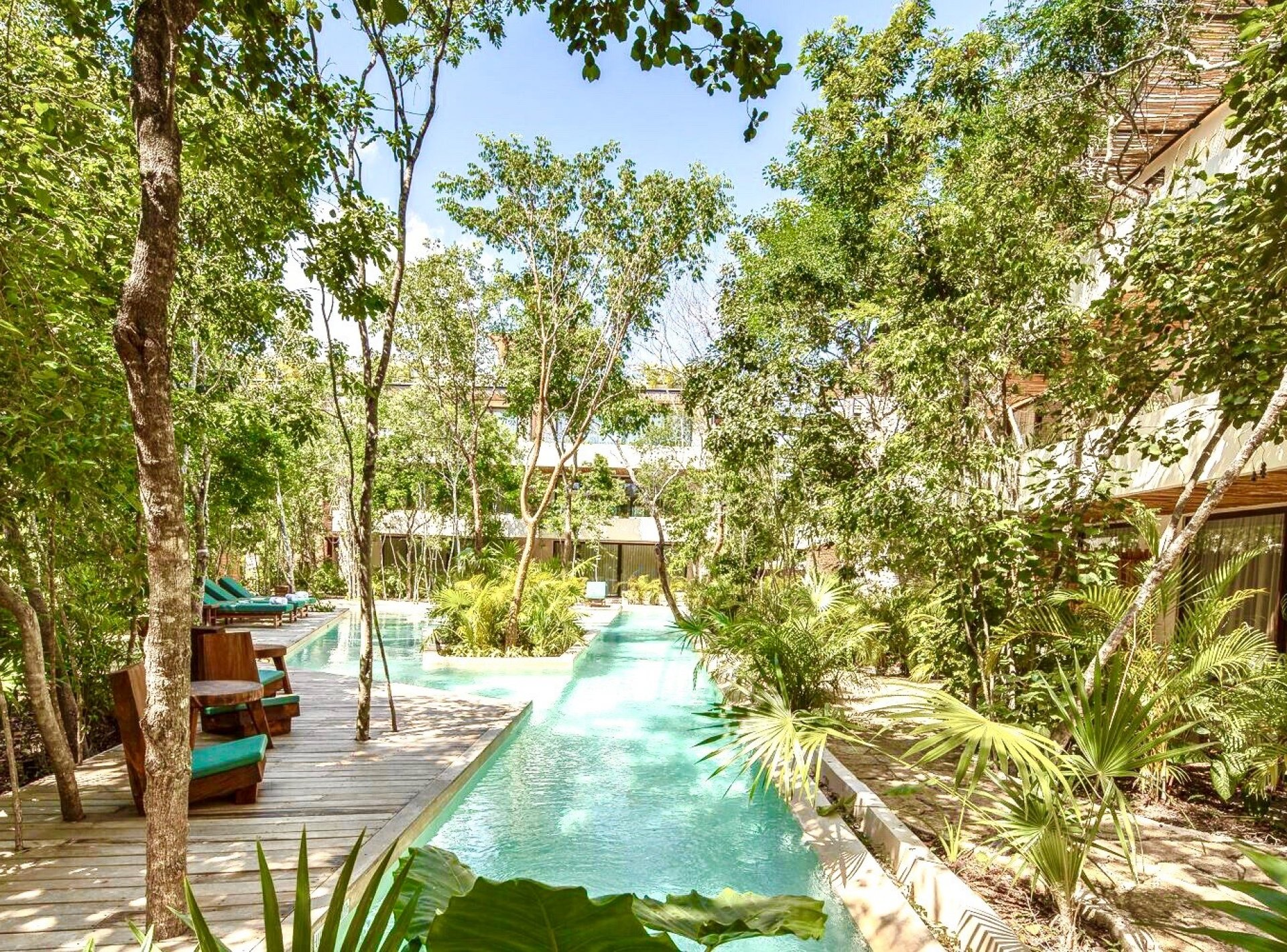 Apartments Tulum Studio Jungle Terrace 14
