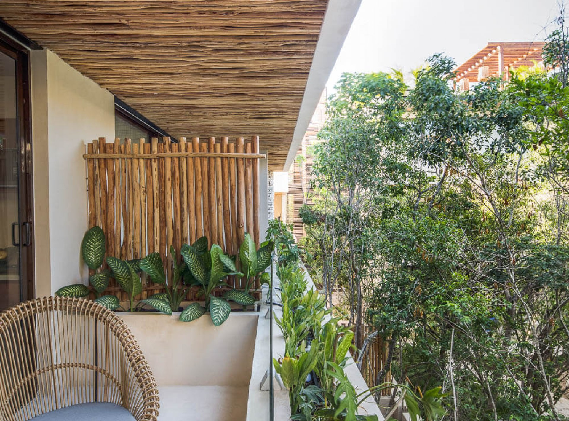Apartments Tulum Studio Jungle Terrace 12